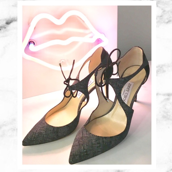 9a8cb9a319 Jimmy Choo Shoes | Vanessa Lace Up Pump Authentic | Poshmark